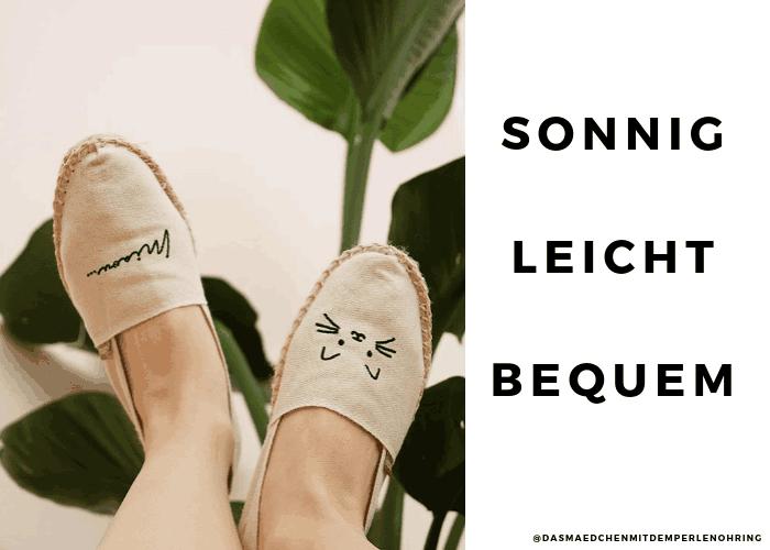 036e4929e3bc7 Und so gibt es nun auch modische Alternativen mit Lace-up-Details oder  anderen hübschen Stoff-Varianten, die den Schuh zum Hingucker machen.