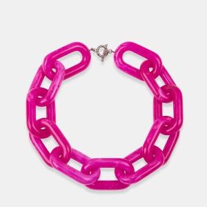 Essential Antwerp - Pinkfarbene, große Kette