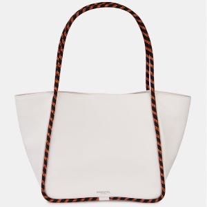 Essential Antwerp –Weiße Tote-Bag mit Kordelgriff
