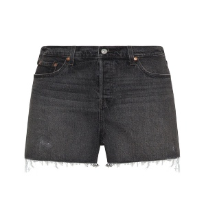 Levi's – Kurze Jeanshose im Destroyed-Look