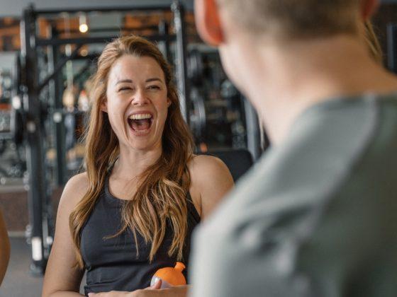 FitX, Fitnessstudio, Freihantel, Sport, Frau, Fitness