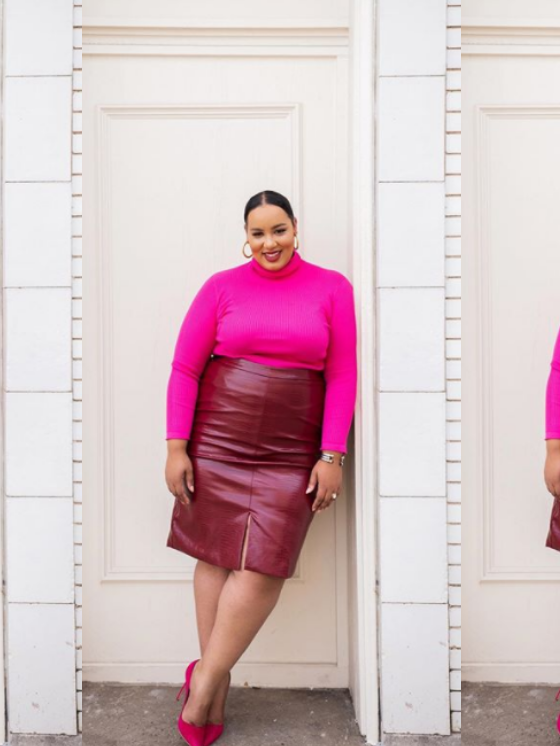 Look der Woche in Knallfarben: Rochelle Johnson