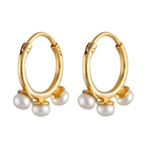Elli über Zalando - Ohrringe mit Perlen