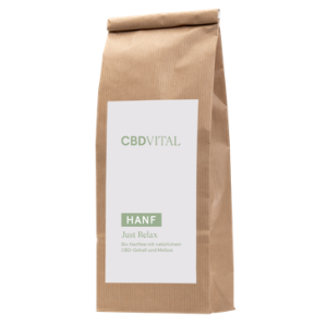 CBD Vital - CBD Hanfblättertee Bio 1,5%