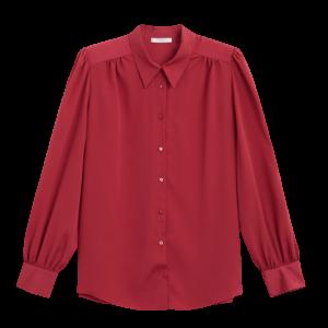 Violeta - Hemd mit gerafften Ärmeln