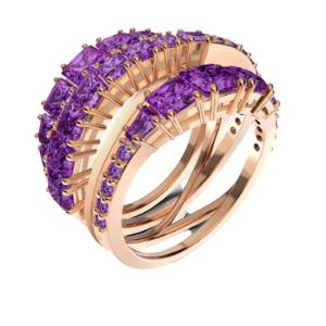 Swarovski - Twist Wrap Ring