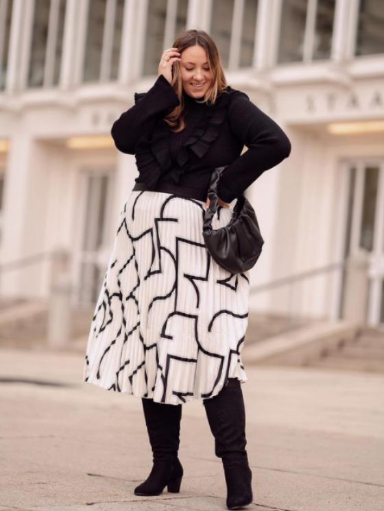 Rock´ n Roll: Diese Röcke schmeicheln deiner Figur! Röcke sind für die Jahreszeit perfekt. Einfach einen Pulli und hohe Boots dazu ein dein Winter-Outfit ist ausführfertig!