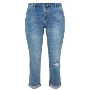 Stone wash boyfriend jeans