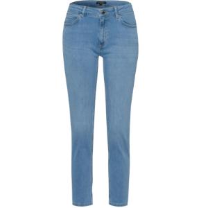 Skinny bleached denim jeans